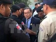 Cambodia inicia juicio contra senador del partido opositor