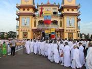 Secta caodaismo celebra aniversario 90 de fundación