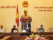 Clausura 42 reunión del Comité Permanente del Parlamento
