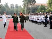 Vietnam y Laos robustecen cooperación militar