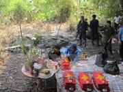 Quang Binh acelera búsqueda y repatriación de restos de mártires