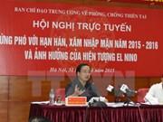Busca Vietnam medidas de respuesta a la sequía y la salinización