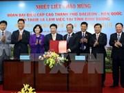 Localidades vietnamita y sudcoreana intensifican cooperación