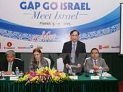 Vietnam impulsa lazos comerciales con Israel