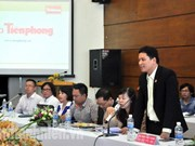 Jóvenes vietnamitas y chinos estrechan cooperación