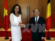 Presidenta del Senado belga culmina fructífera visita a Vietnam
