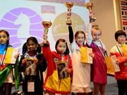 Vietnam gana oro en Campeonato mundial juvenil de Ajedrez