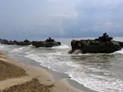 Realizan Malasia y Estados Unidos maniobra naval