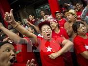 Anuncian primeros resultados electorales en Myanmar