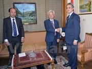Vietnam y Egipto robustecen cooperación en formación