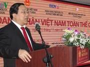 Celebran en Rusia conferencia de empresarios vietnamitas en el mundo
