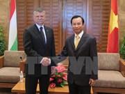Visita Da Nang delegación del parlamento húngaro