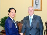 Príncipe británico se compromete a apoyar emprendimiento empresarial en Vietnam