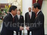 Presidente indonesio valora relaciones de cooperación con Vietnam