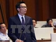 Tres vicepremieres y 13 titulares sectoriales comparecen ante parlamento