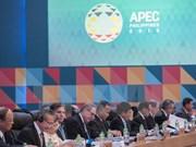 Concluye reunión interministerial de APEC en Manila