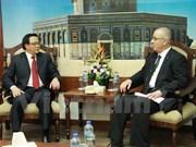 Delegación partidista vietnamita visita países de Medio Oriente