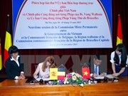Asistencia belga a Vietnam para ejecución de proyectos importantes