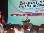 ASEAN emitirá declaración sobre el establecimiento de Comunidad regional