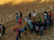 Al menos 90 muertos por accidente en mina de esmeralda en Myanmar