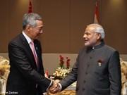 Realiza primer ministro indio visita a Singapur