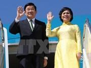 Presidente vietnamita llega a Alemania para visita oficial