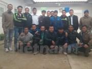Retorna a Vietnam último grupo de trabajadores nacionales en Argelia