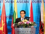 Prensa fomenta enlaces entre países de ASEAN, afirmó vicepremier vietnamita