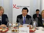 Presidente vietnamita aborda asuntos de paz y desarrollo en Instituto Koerber