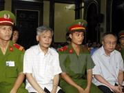 Dos condenados a muerte en severo caso corruptivo en Vietnam