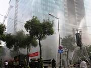 Ciudad Ho Chi Minh: Cuatro mil personas en simulacro de extinción de incendios