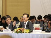 Premier vietnamita interviene en foro de contrapartes de desarrollo