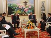 Viceministro vietnamita de Seguridad Pública recibe al alto oficial de UE