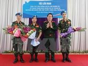 2015, año de proactiva participación vietnamita en misiones de paz de ONU