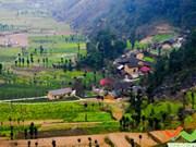 Pho Bang, cabecera pacífica en montañas rocosas de Dong Van