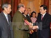Elogian aportes de personas con meritos revolucionarios de Ha Nam