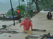 Asistencia gubernamental a localidades damnificadas por catástrofes