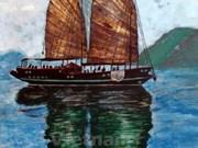 En Hanoi exposición de pintura destaca belleza de Vietnam y Marruecos