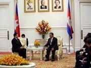 Tailandia y Cambodia intensifican cooperación bilateral