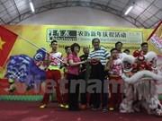 Vietnam participa en concurso de danzas de león en Singapur