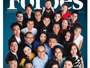 """Forbes Vietnam publicó lista """"30 under 30"""""""