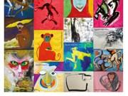 Muestra de pinturas sobre monos en Hanoi saluda al Año Nuevo Lunar 2016