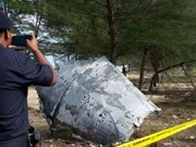 Malasia halla otro supuesto fragmento del MH370