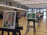 Exposición en Kremlin releja afecto de alumnos hacia Vietnam y Rusia
