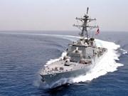 Buque de EE.UU. se acerca a isla ocupada ilegalmente por China en Mar del Este