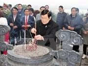 Presidente recorre provincia central de Ha Tinh en vísperas del Tet
