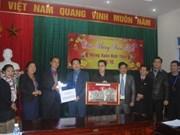 Funcionarios de Laos visitan provincia centrovietnamita con motivo del Tet