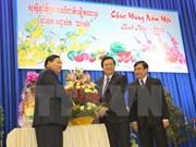 Localidades vietnamitas y cambodianas fomentan relaciones de amistad