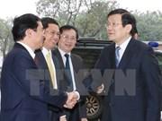 Presidente de Vietnam urge a Nghe An a fomentar competitividad
