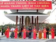 Inauguran obra conmemorativa a combatientes caídos en Cambodia